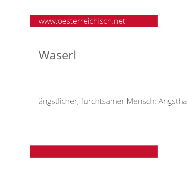 Waserl