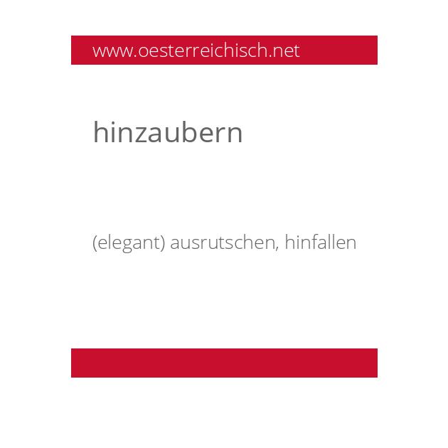 hinzaubern