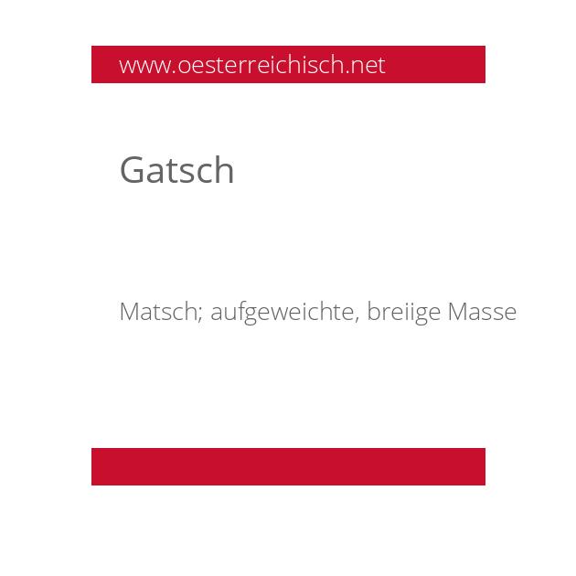 Gatsch