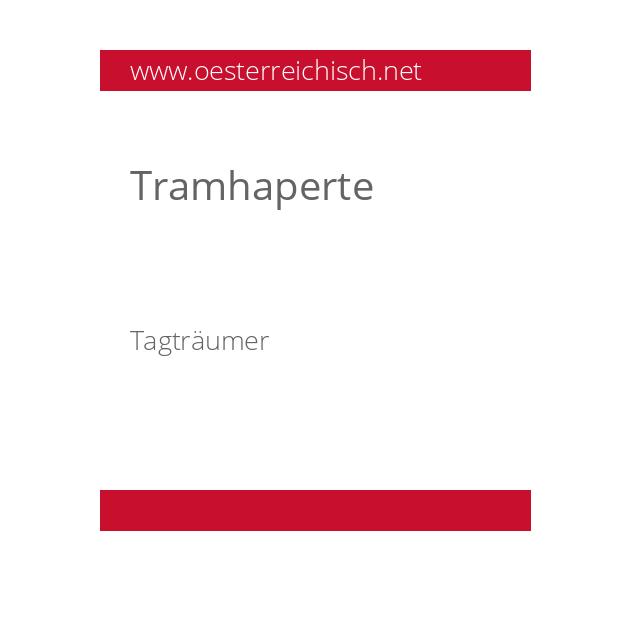 Tramhaperte