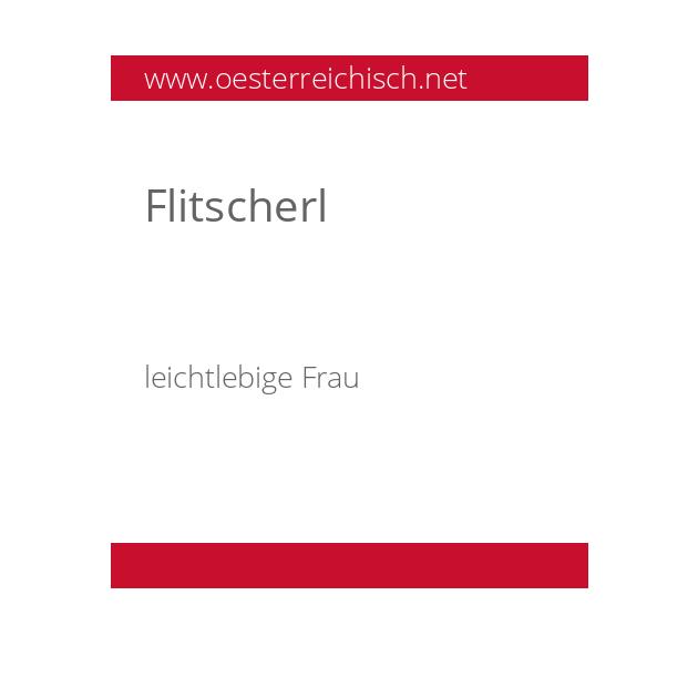 Flitscherl