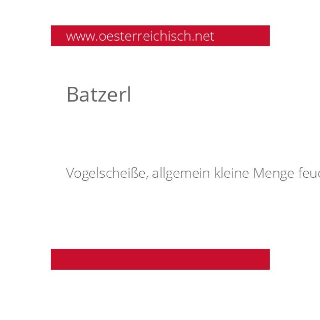 Batzerl