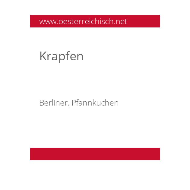 Krapfen
