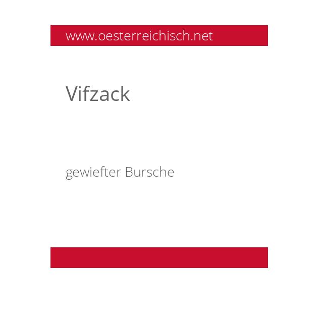 Vifzack