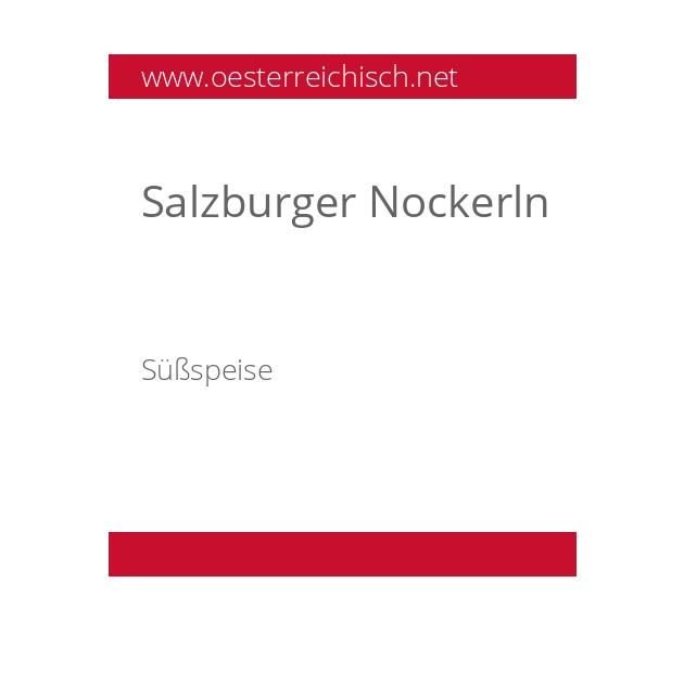 Salzburger Nockerln
