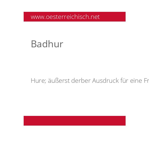 Badhur