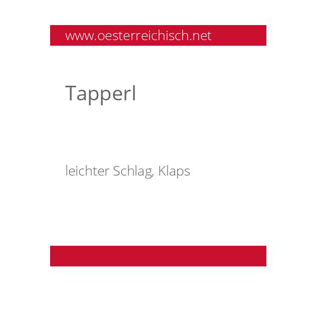 Tapperl