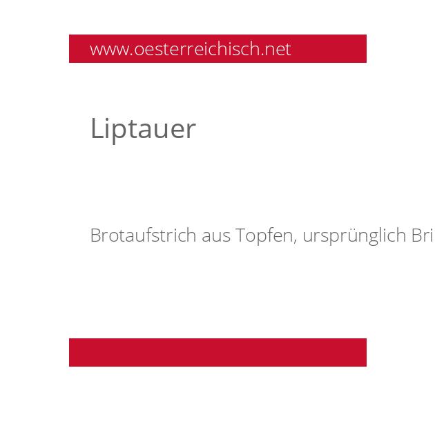 Liptauer