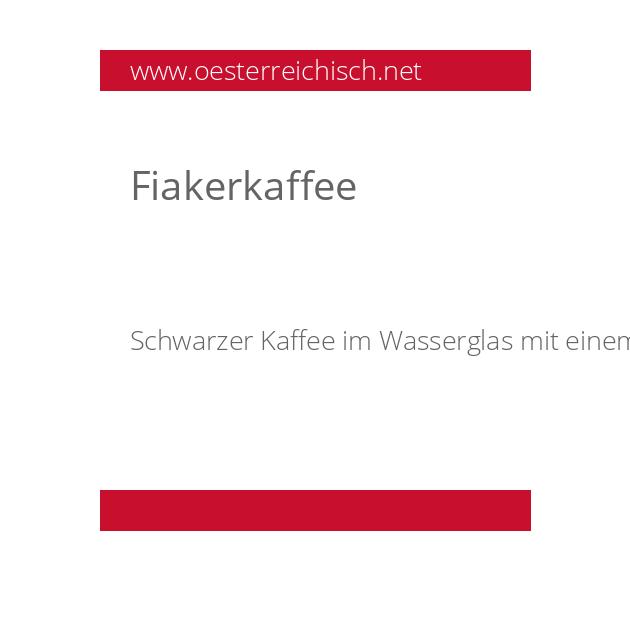 Fiakerkaffee