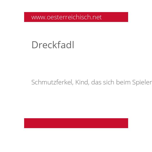 Dreckfadl