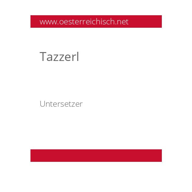Tazzerl