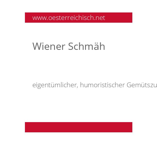 Wiener Schmäh
