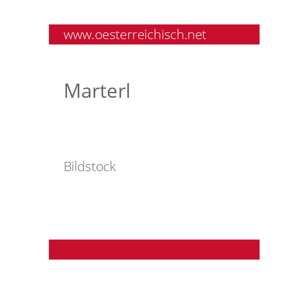 Marterl