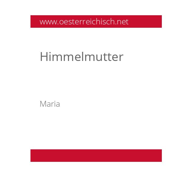 Himmelmutter
