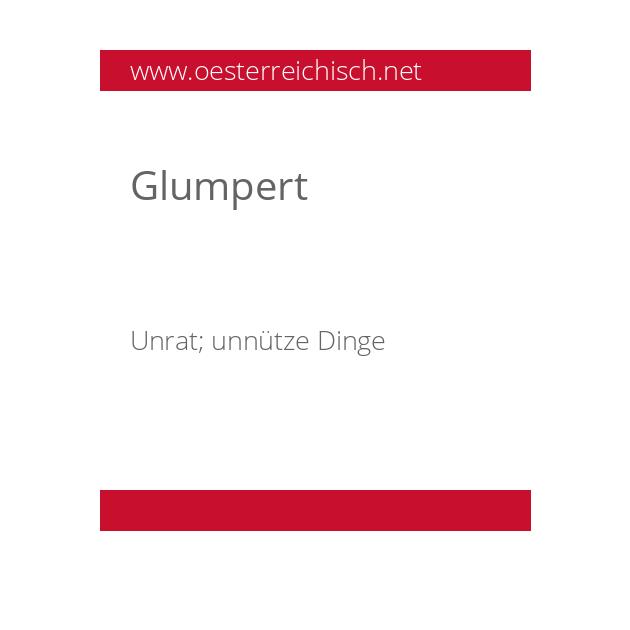 Glumpert