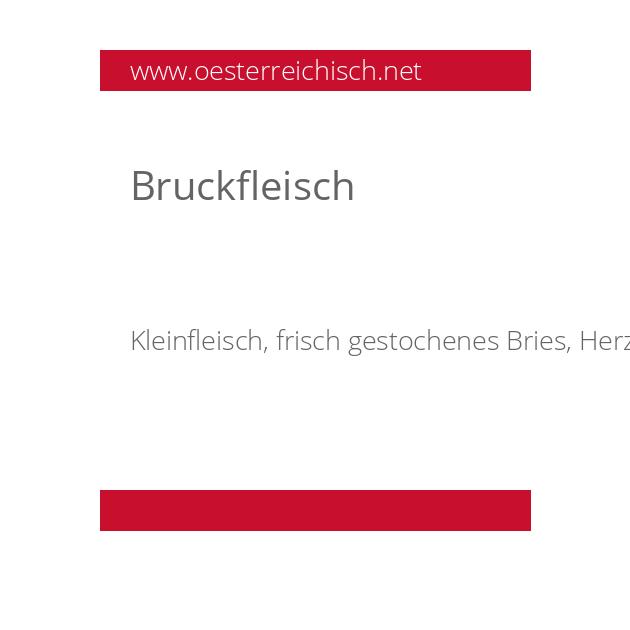 Bruckfleisch