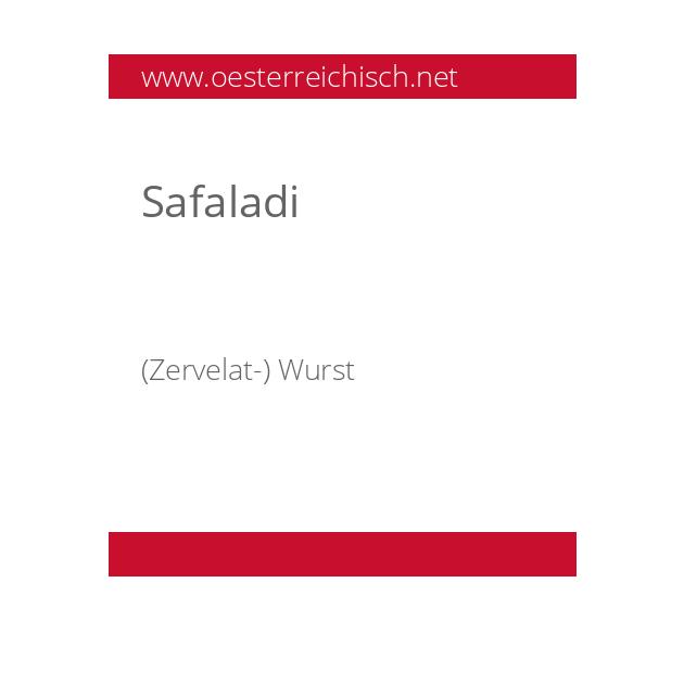 Safaladi